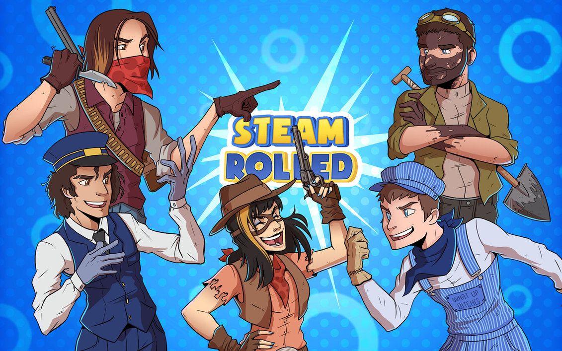 Updated Steam Rolled Wallpaper By Causeimdanjones On Deviantart Game Grumps Grump Youtube Gamer
