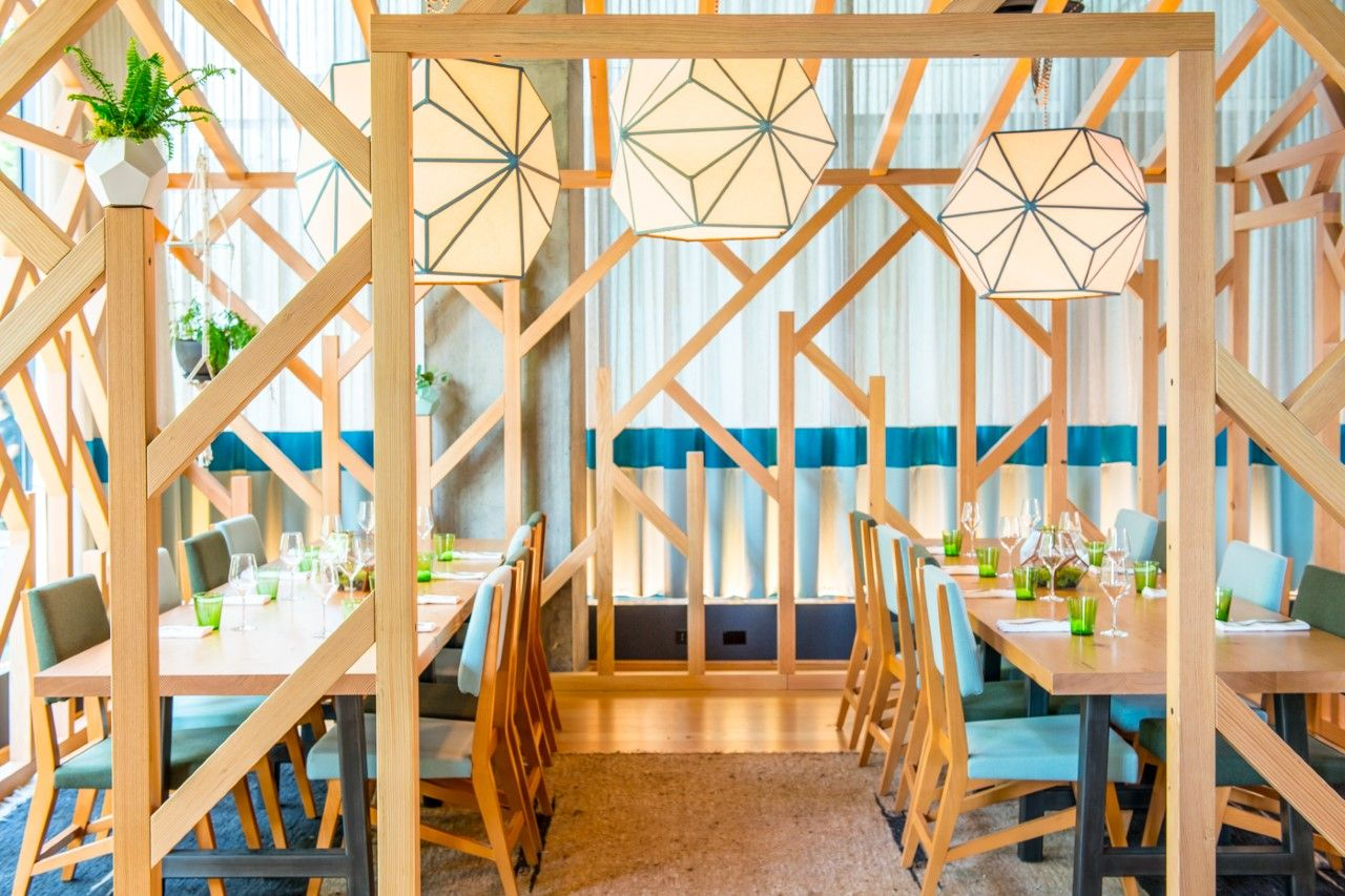 The Cabin At Scout Perfect For Private Dining  Thompson Seattle Simple Private Dining Rooms Seattle Inspiration Design