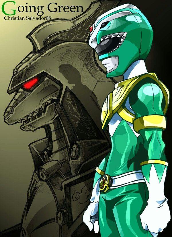 Mighty morphin green ranger wallpaper