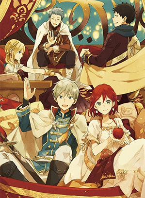 Here Is A List Of Characters In Snow White With The Red Hair Main Characters Shirayuki Zen Wisteria Obi A Snow White With The Red Hair Anime Snow Akagami No