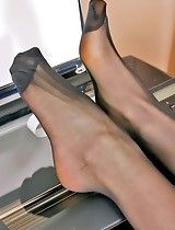 Confirm. black reinforced toe pantyhose opinion