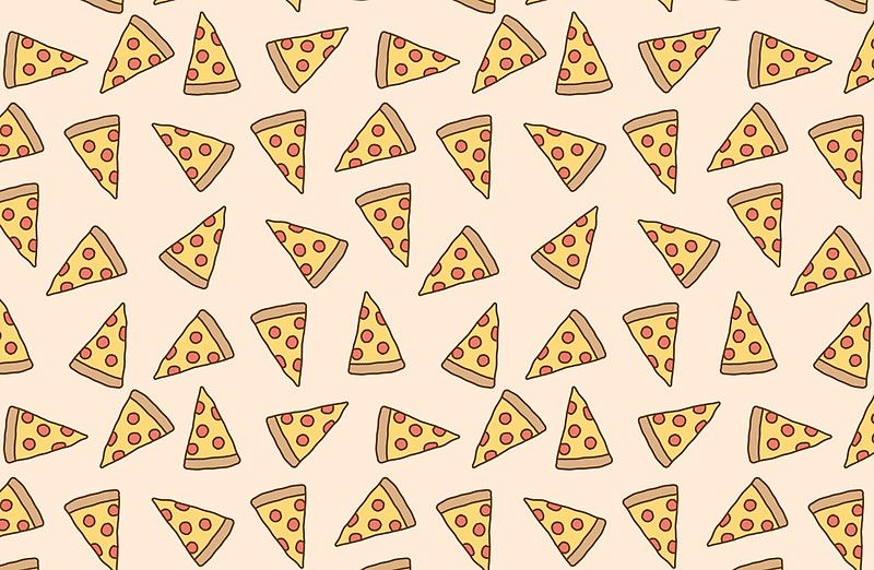 Cute Tumblr Pizza Pattern Laptop Skins By Deathspell Redbubble Cute Wallpapers For Computer Cute Wallpaper For Phone Laptop Wallpaper
