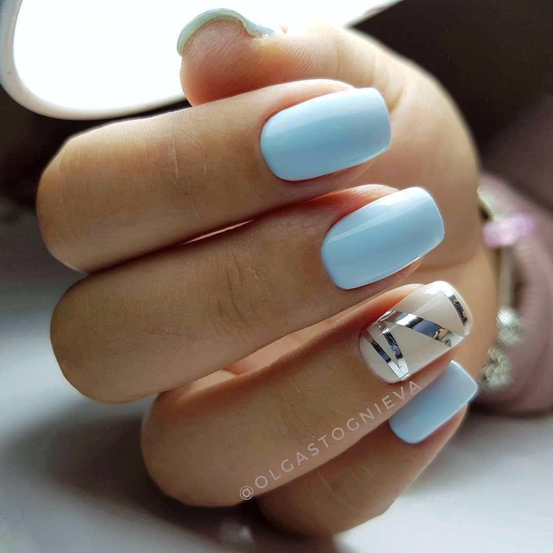 22 Pretty Nail Art Ideas - glitter nails , acrylic nail art design #nail #nailart #nails #manicure