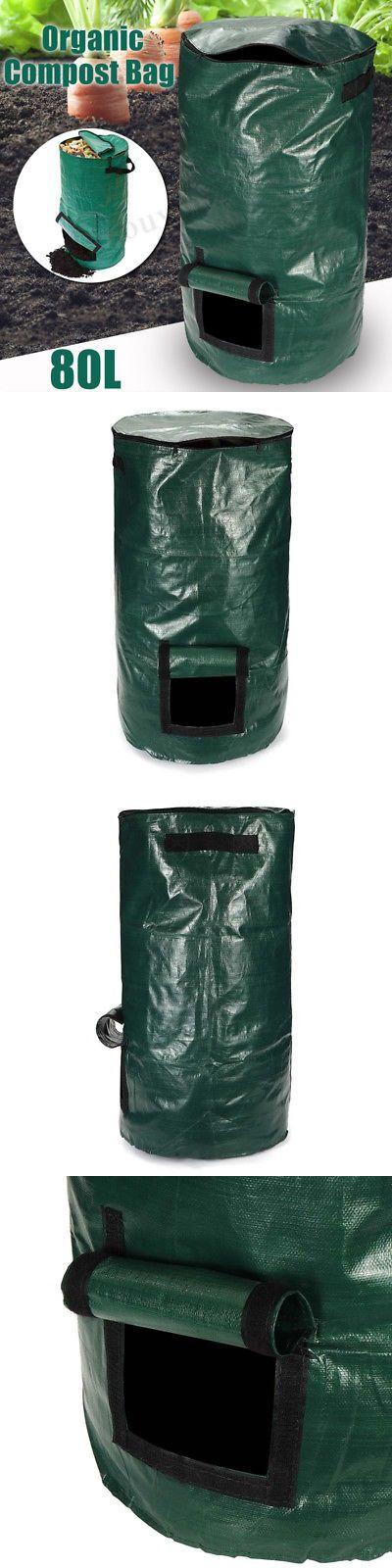 Garden Compost Bins 181023 80l Compost Bin Compostable Bag Garden Kitchen Organic Waste Disposal Composter Buy Compost Bags Organic Compost Waste Disposal