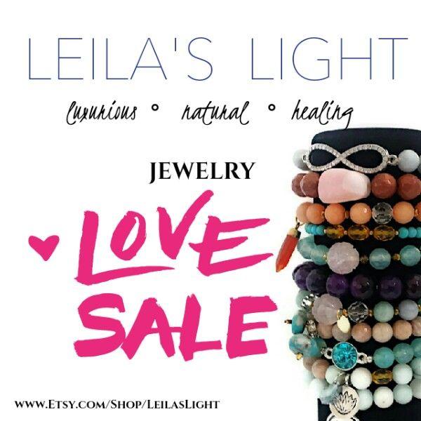 Custom Stone & Crystal Healing Jewelry