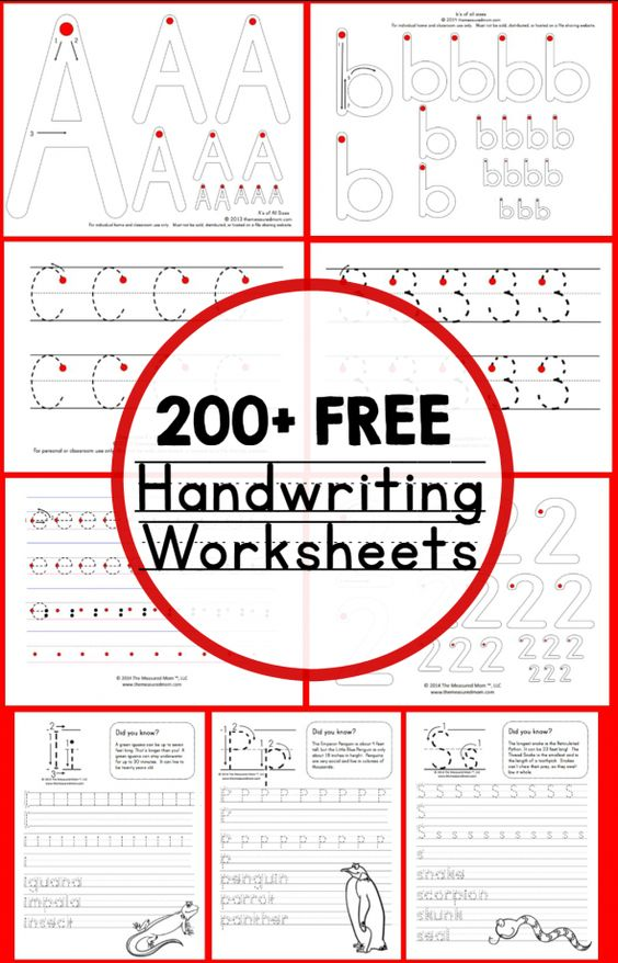 Photo of Handwriting Archives – The Measured Mom