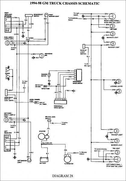 2001 Chevy Truck Tail Light Wiring Diagram - Box Wiring Diagram •box wiring diagram