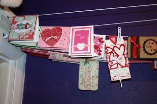 Cleaver card display.cRAFTY STORAGE: Small Studios