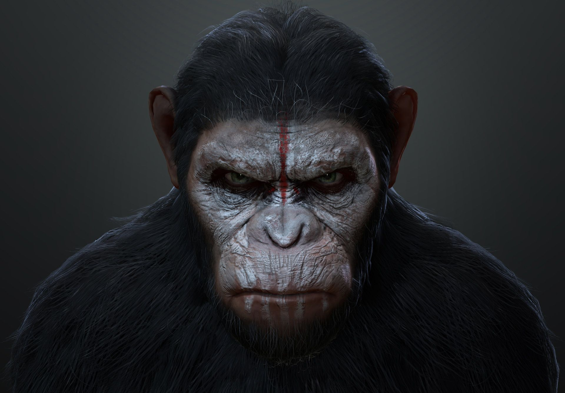 Artstation Dawn Of The Planet Of The Apes Fan Art Patrick Liow Planet Of The Apes Dawn Of The Planet Apes