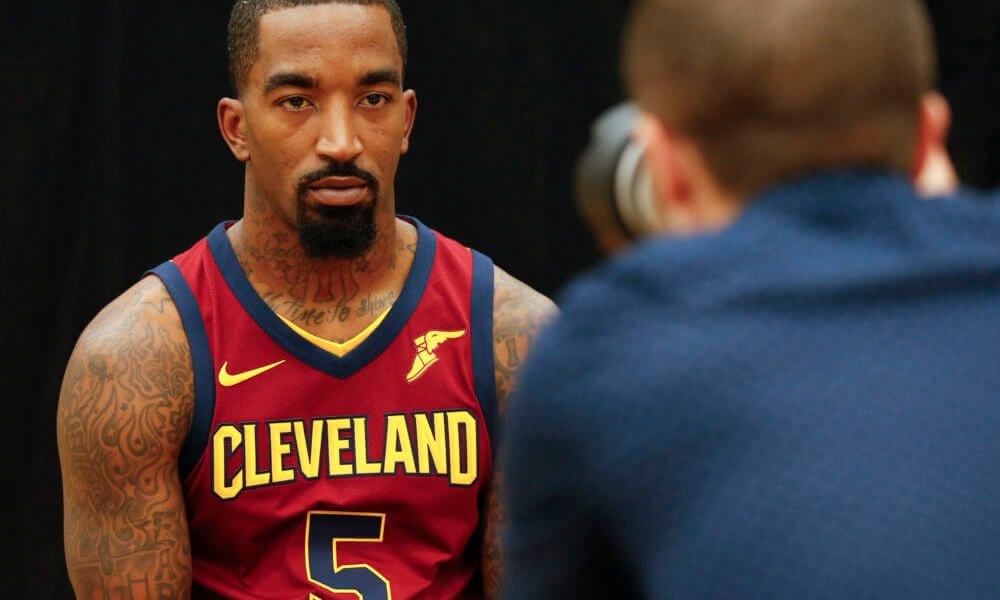 JR Smith initially hurt by decision to start Dwyane Wade   The Cleveland  Cavaliers will be 0cb1130d0