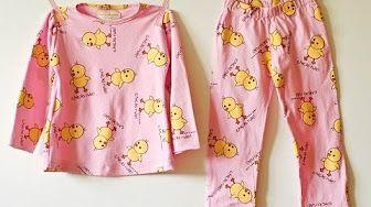 099877d2b Aprende a confeccionar pijamas para niños(as) - YouTube