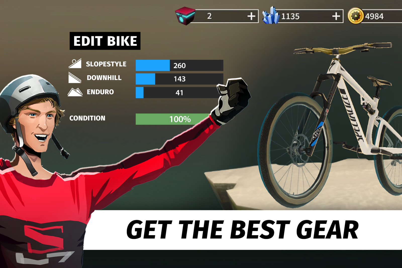No Verification Bike Unchained Cheats And Hack Free Gold And