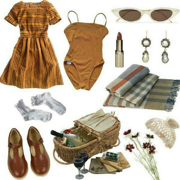 Summer picnic outfit   Picnic outfits, Picnic outfit ...