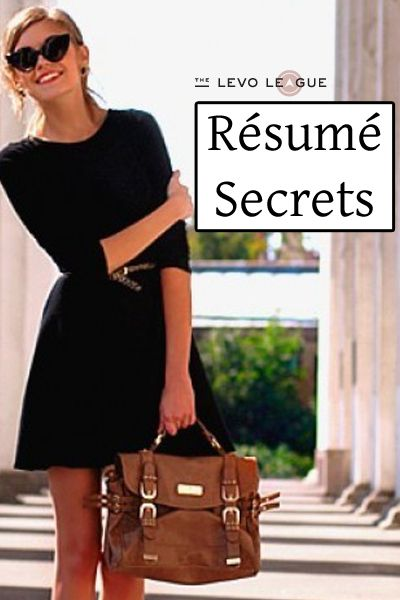 How To Make Your Resume Standout Things For My Wall Pinterest