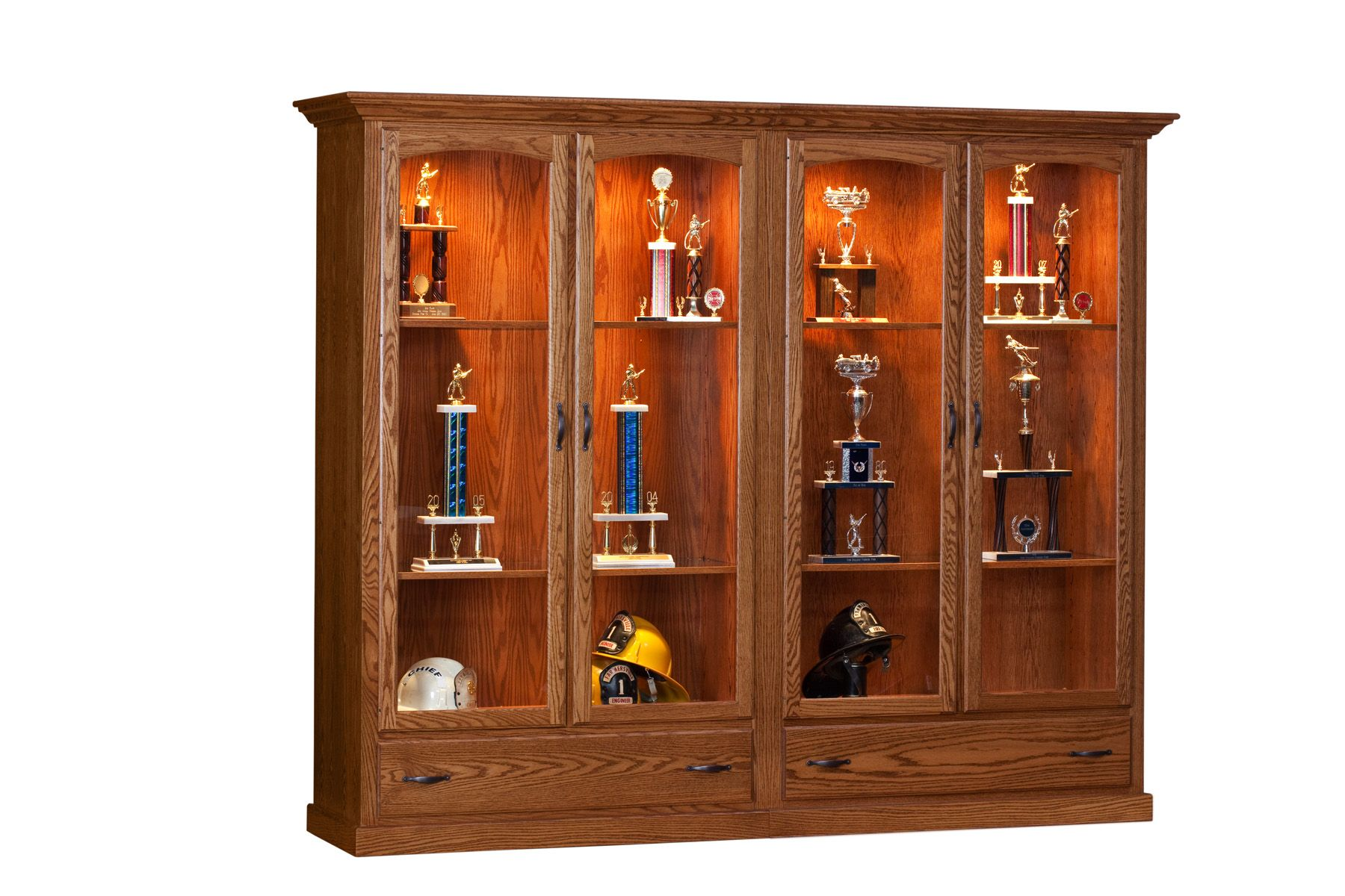 Dining Room :: Case Goods :: Curio Cabinets :: Trophy Case Display Cabinet