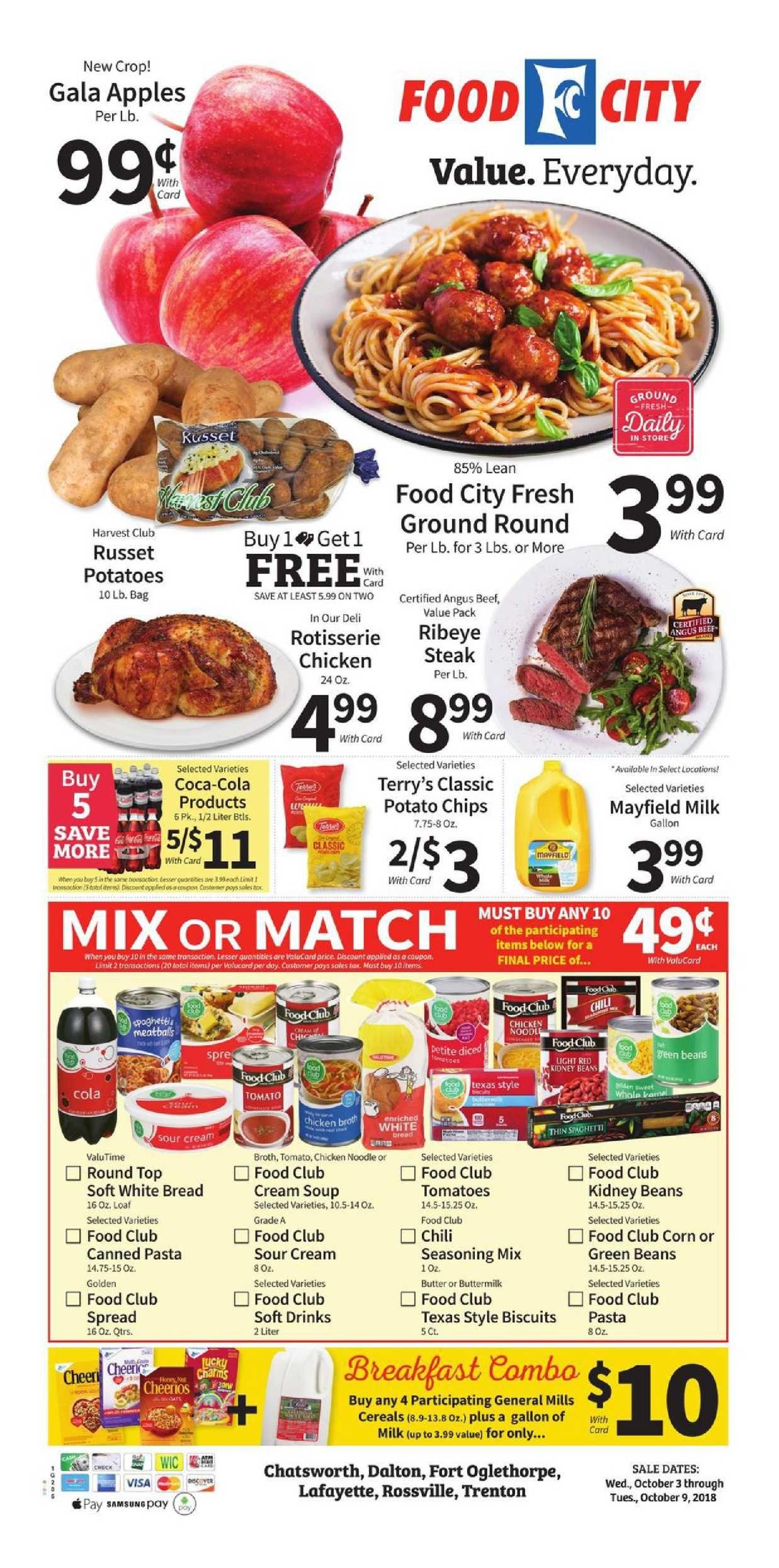 Food City Weekly Ad Flyer January 2 8 2019 Weekly Ad Circulars