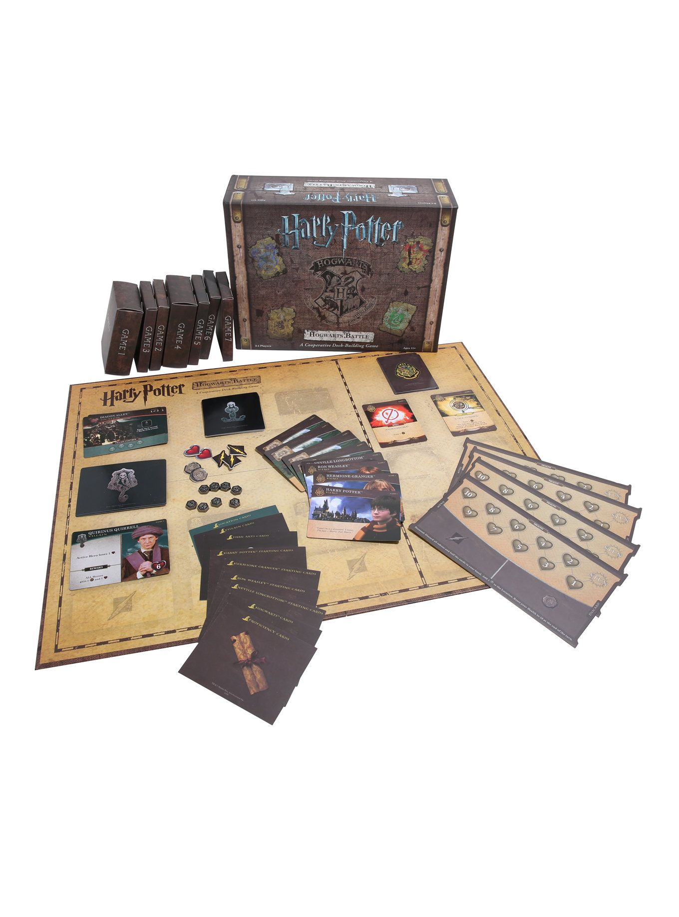 Harry Potter Hogwarts Battle A Cooperative Deck