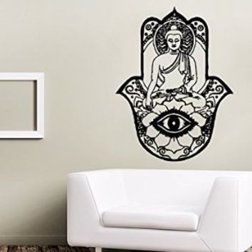 Charmant Wall Decals Yoga Lotus Indian Buddha From Amazon | Wall Decals