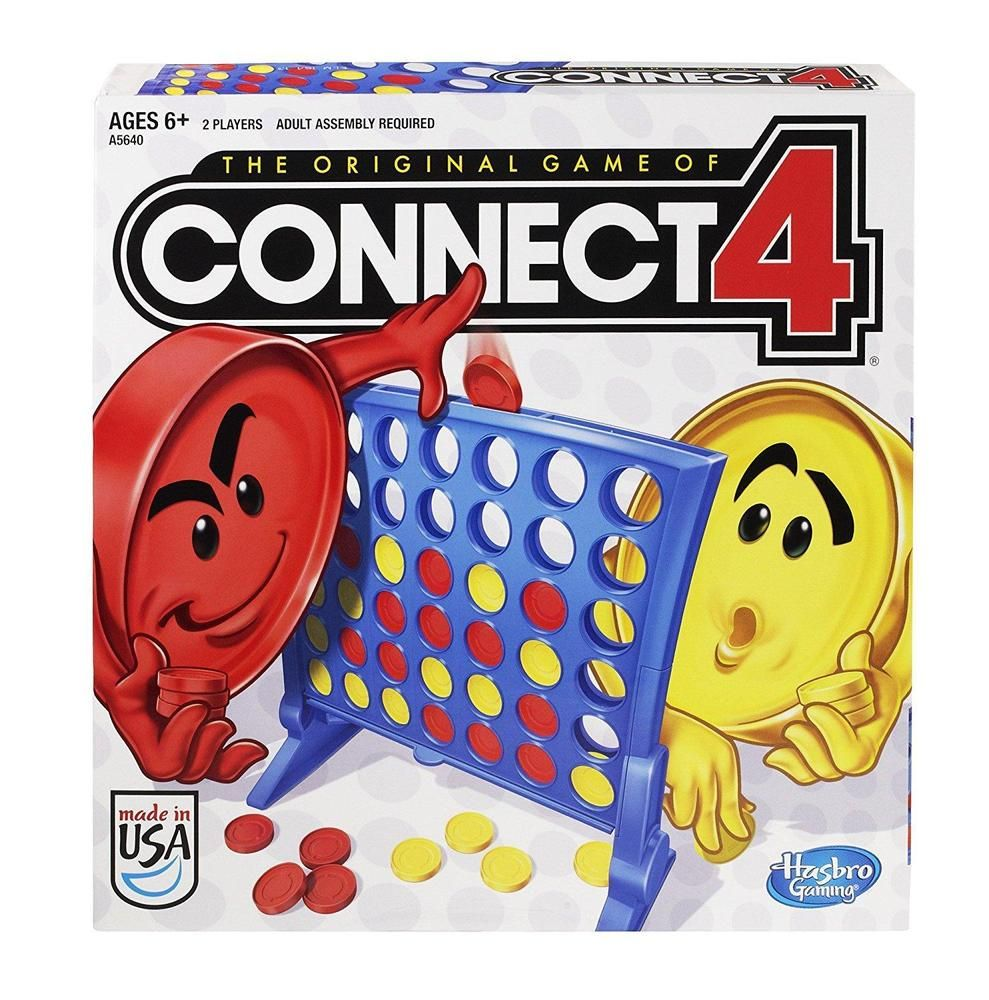 Hasbro Connect 4 Game New, Free Shipping Hasbro