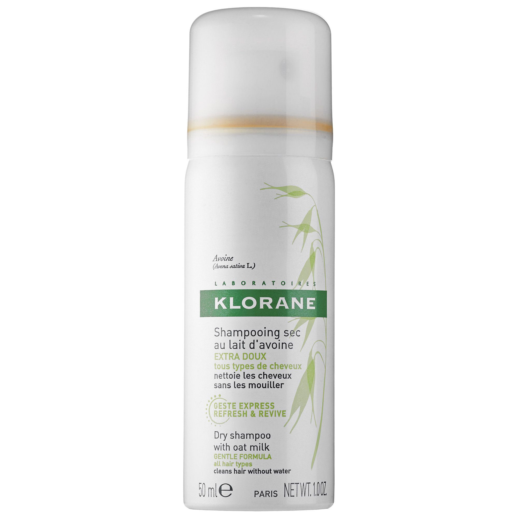 Klorane Dry Shampoo with Oat Milk hair products Pinterest Sephora