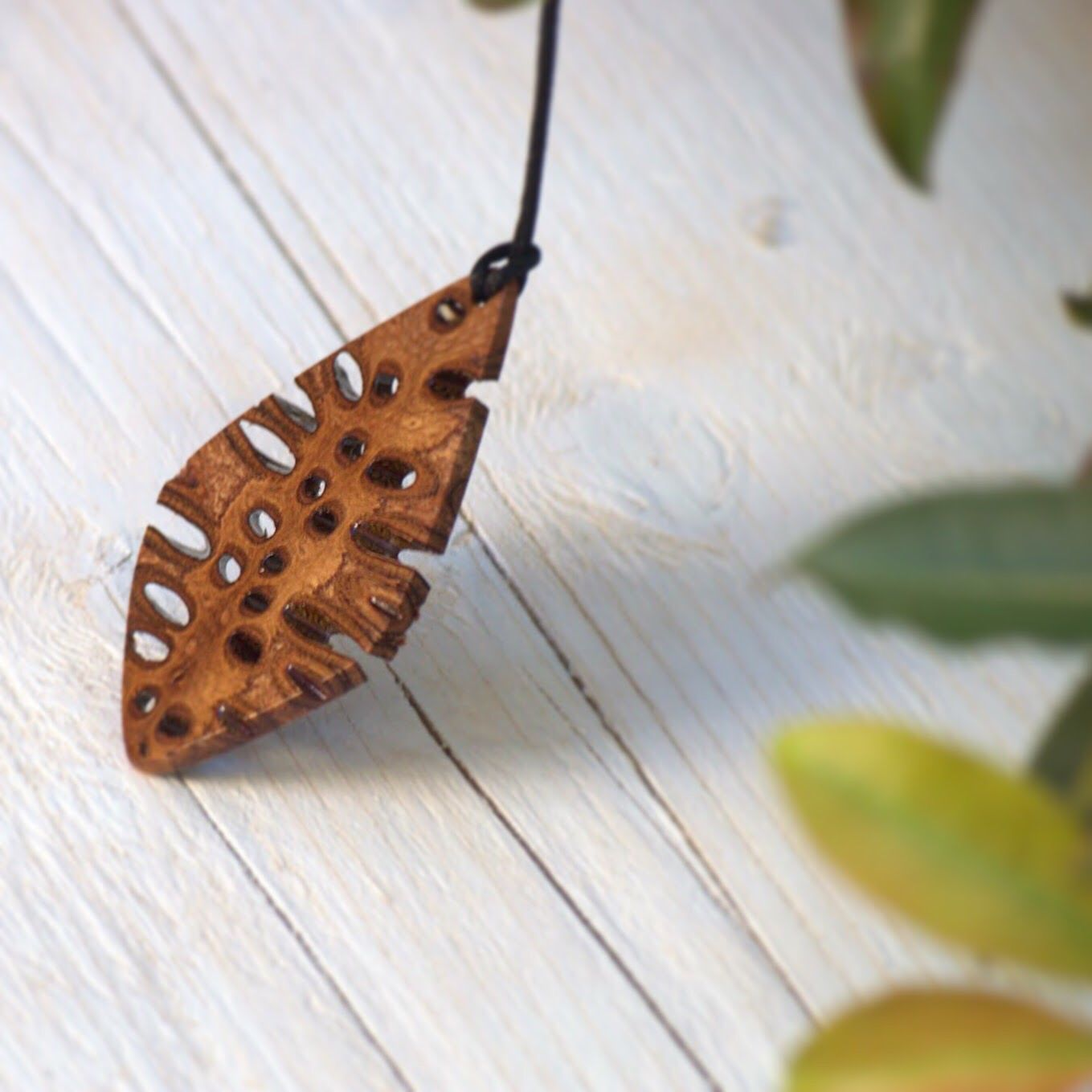 Handmade banksia pendant necklace one of a kind accessory