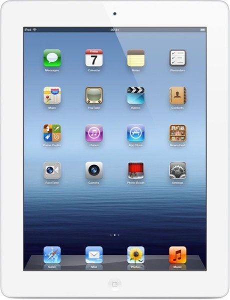 Huuda itsellesi Apple iPad 16 GB Wi-Fi multimedialaite Retina-näytöllä, valkoinen. Huudon lähtöhinta 0,00 €. www.outlet.fi