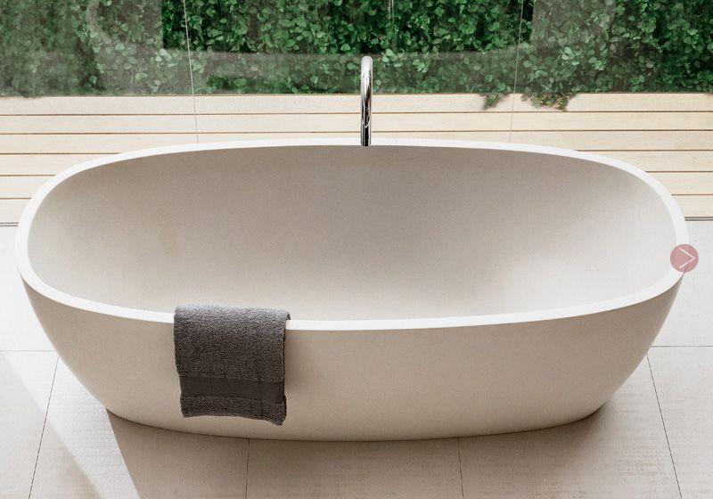 gorgeous modern sleek bath tub