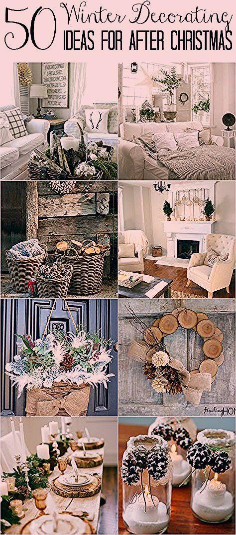 Photo of 50 Winter Decorating Ideas
