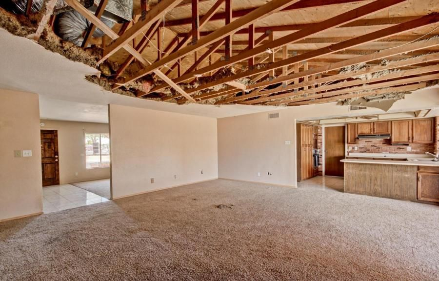Ceiling Fan Exposed Rafters Exposed Trusses Fixer Upper House