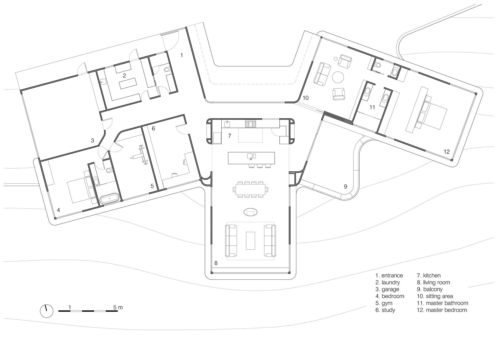 Gallery Of High Country House Luigi Rosselli Architects 18 House Plans Australia Solar House Plans Passive Solar House Plans