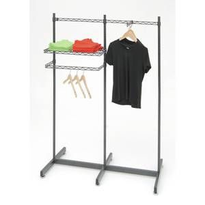 Commercial Garment Rack Perfect For Trade Shows Or Mobile