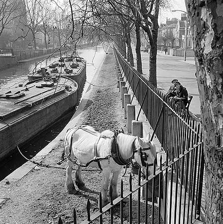 Regent's Canal, Little Venice, Westminster, Greater London January 1962-May 1964 by John Gay