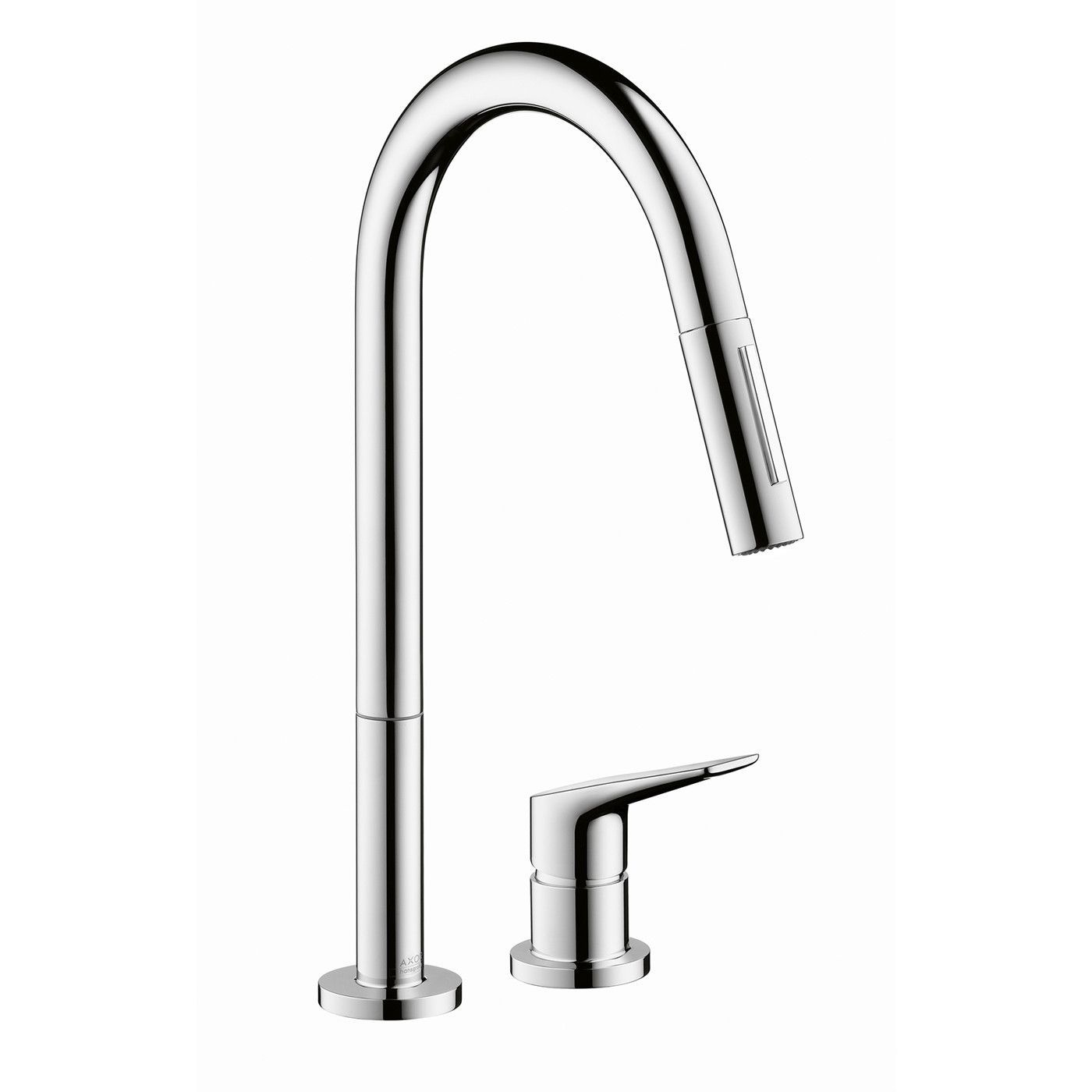 Hansgrohe 34822001 Chrome Axor Citterio M Pull-Down Kitchen Faucet ...