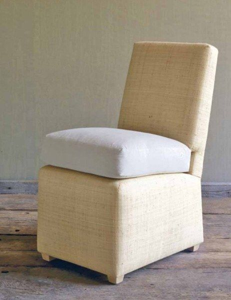 Superieur Small Raffia Wrapped Billy Baldwin Slipper Chair; To The Trade From Ventry  Ltdu2026