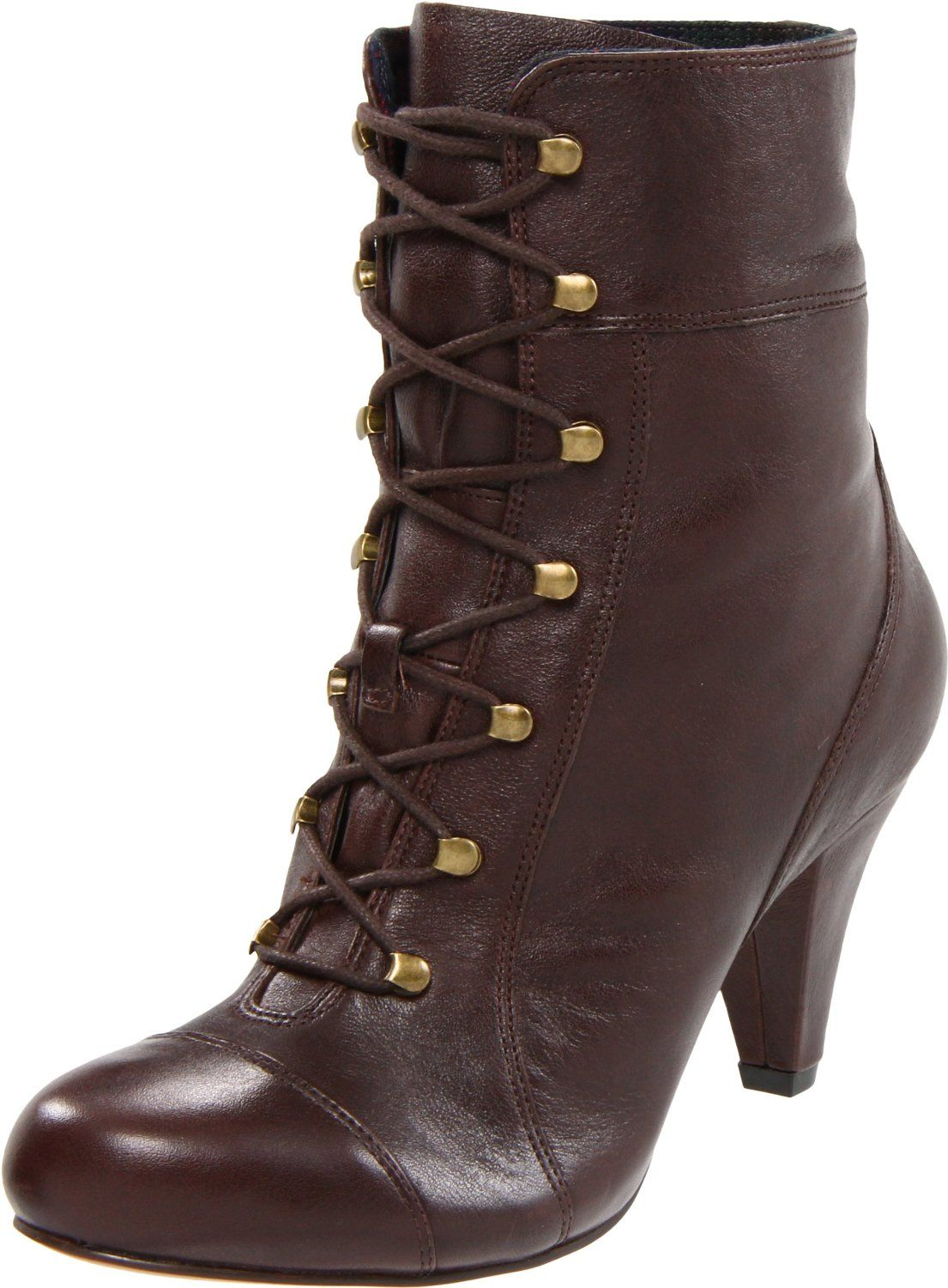 granny boots were very popular in the 90s . My first pair of shoes my  mother bought my sisters and I ~ besides school shoes~ were HEELS!!! a233999d2