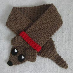 Free To Be Crafty Free Pattern To Make A Sweet Weiner Dog Scarf