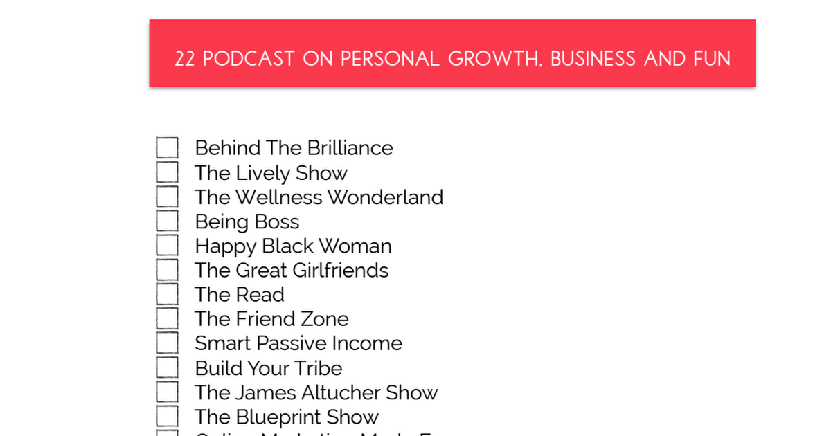 Podcast_List.pdf Podcasts, Smart passive Blueprints