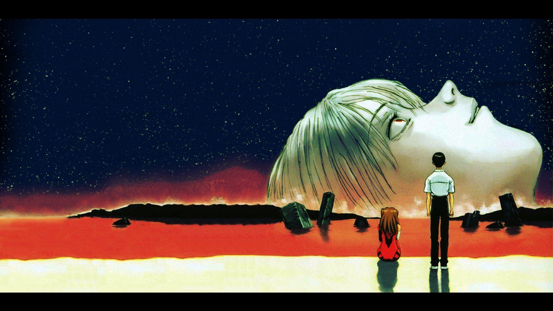 End of Evangelion Wallpaper Евангелион