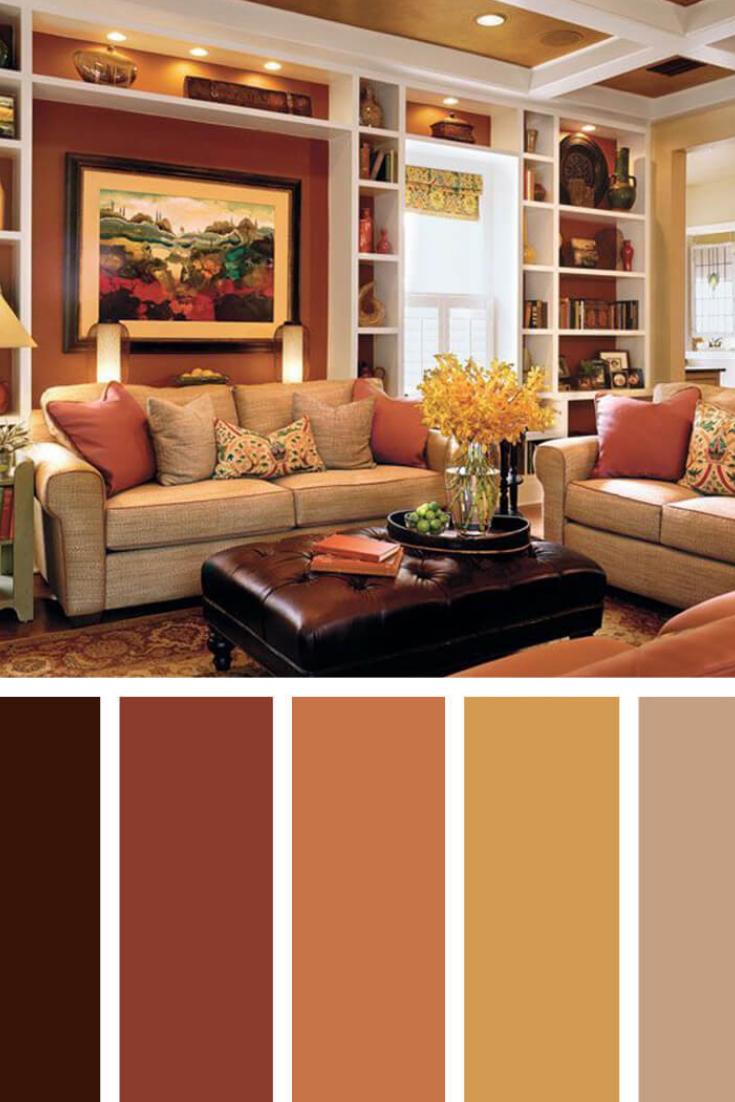 Oh Joy Living Room Color Palette Brown Living Room Color