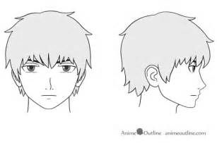 3 4 Profile Nose Male Drawing Ecosia Anime Head Outline Drawings Cartoon Girl Drawing