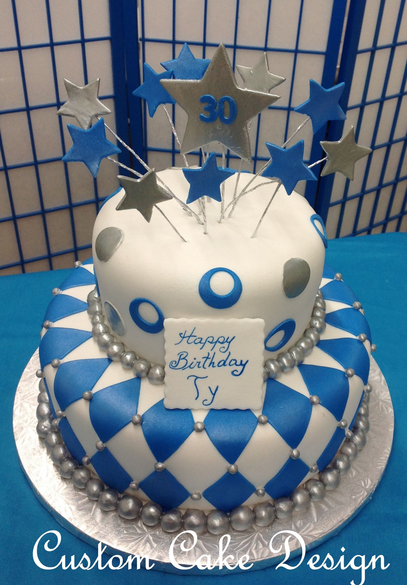 Custom Cake Adult birthday cakes, Cake, Cake design