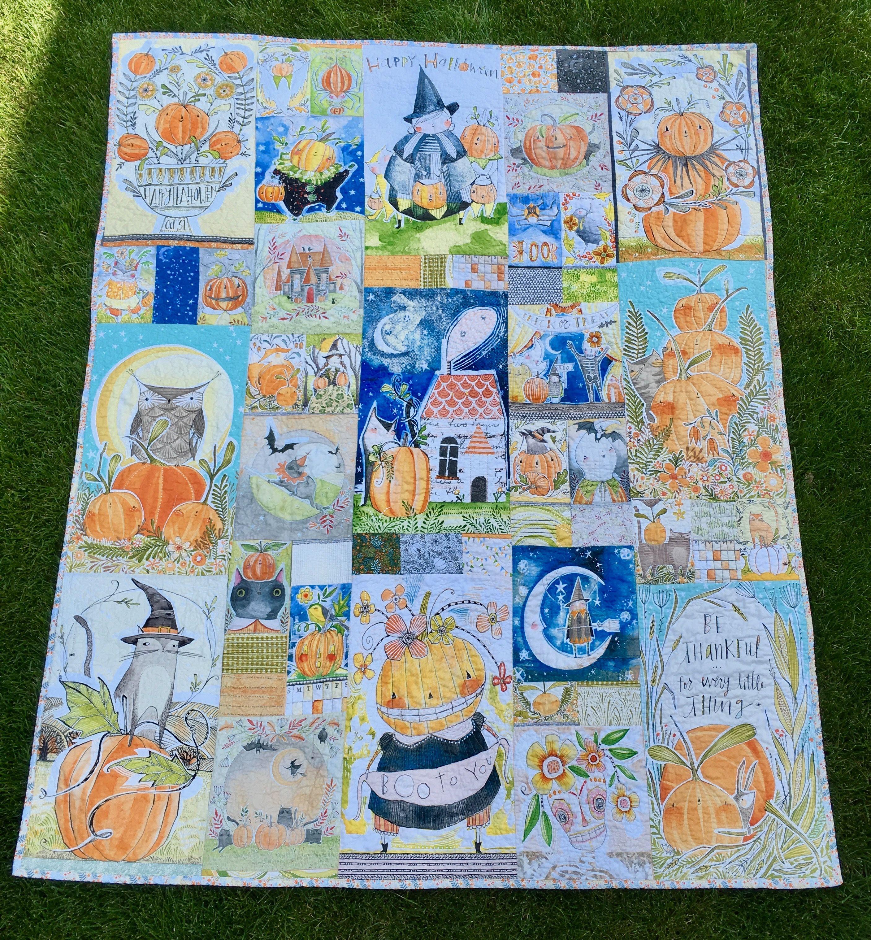 Cori Dantini Halloween Quilt 2019 Jane Makuch Quilts