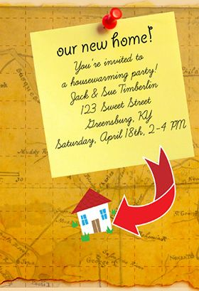 Our new home printable invitation customize add text and photos our new home printable invitation customize add text and photos print for free m4hsunfo