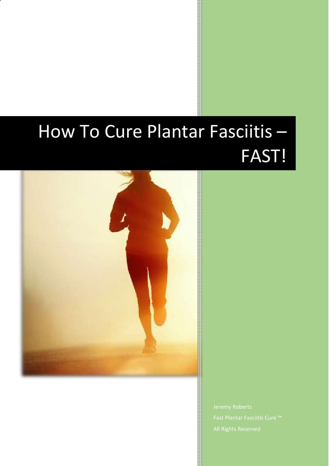 Discover the truth and the facts about Fast Plantar Fasciitis Cure™ PDF, eBook…