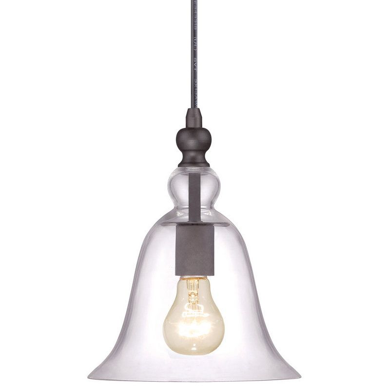 View the Miseno MLIT2203A Single Light Mini Pendant with Clear Bell Glass Shade at LightingDirect.com.