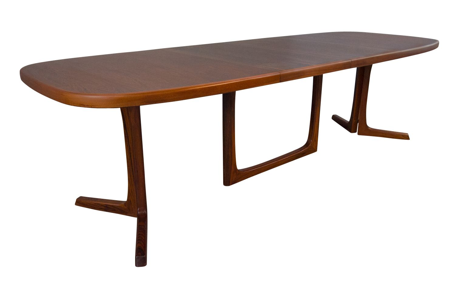 Fabulous Oluf Hansen 9Ft Rosewood Dining Table Mid Century Danish Gmtry Best Dining Table And Chair Ideas Images Gmtryco