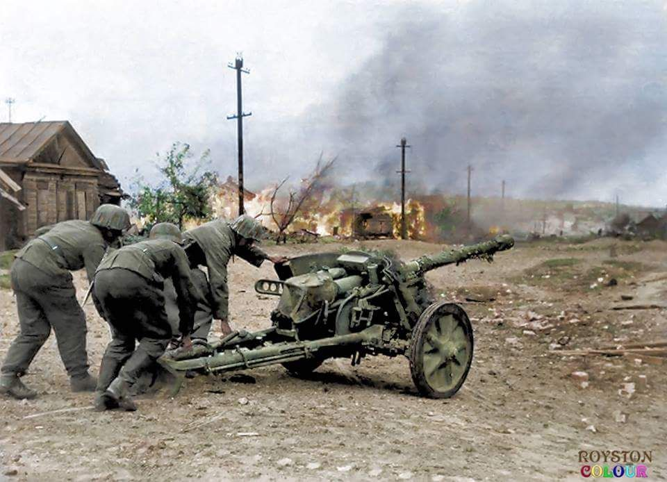 German 50 Mm Anti Tank Gun: Axis Small Arms & Weapons, 1939-'45