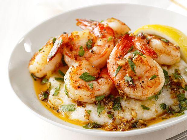 Lemon garlic shrimp and grits recipe lemon garlic shrimp garlic lemon garlic shrimp and grits food networktrishasea forumfinder Choice Image