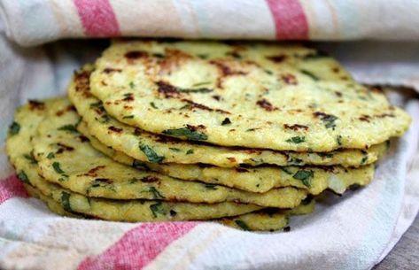 Tortillas de chou-fleur weight watchers, une recette légère, facile et simple ... -