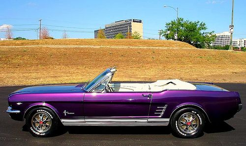1966 Ford Mustang Convertible  Mustang convertible Cars and Ford